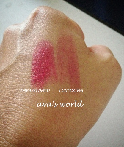 lustering impassioned swatch