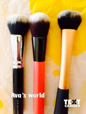 zoeva 102/neve red amplify/ real techniques expert face brush