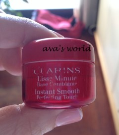 clarins liss minute
