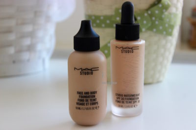 mac face and body studio waterweight foundation fondotinta