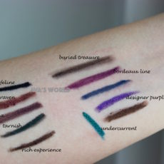 feline raven prunella tarnish rich experience buried treasure bordeax line designer purple undercurrent mac eye pencil