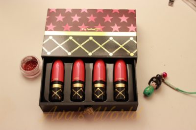 nutcracker mac set minis lipstick nude