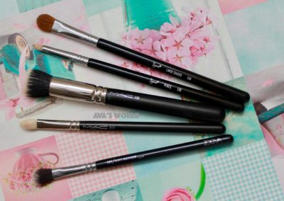 5 brushes pennelli 217 227 130 e30 e60 mac sigma zoeva