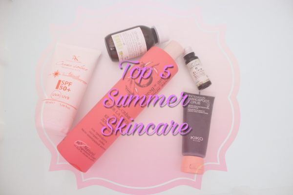 top 5 summer skin care
